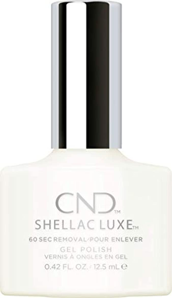 ぴかぴかランプ公爵CND Shellac Luxe - Studio White - 12.5 ml / 0.42 oz
