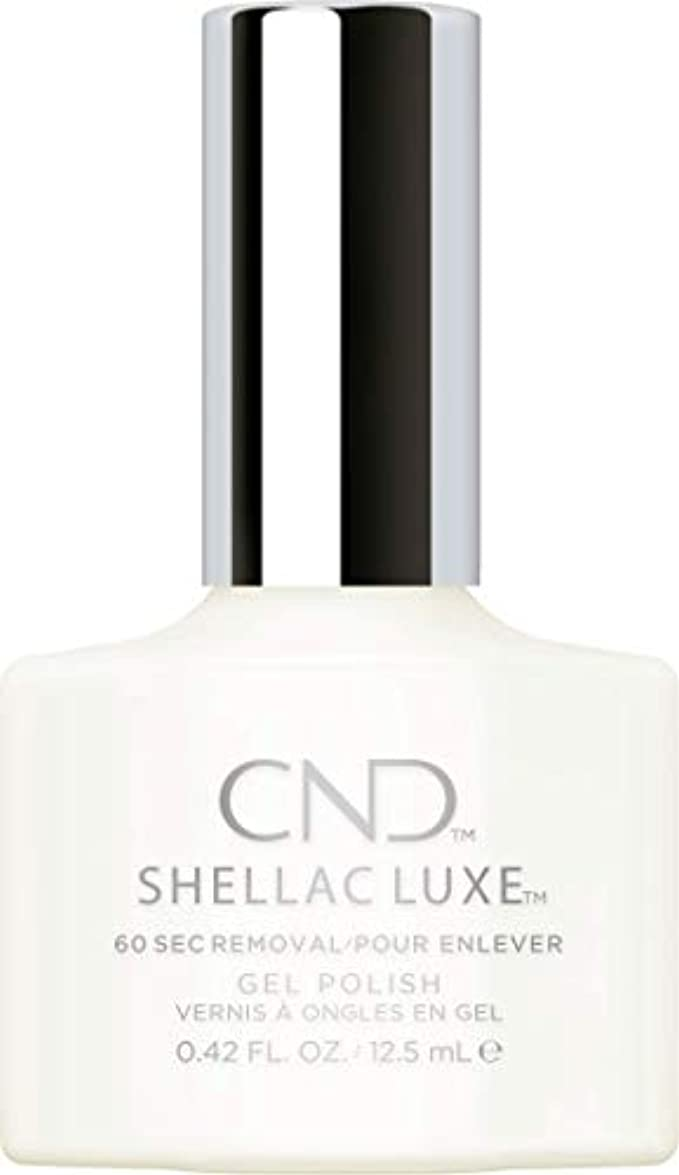 リーン注目すべき縮れたCND Shellac Luxe - Studio White - 12.5 ml / 0.42 oz