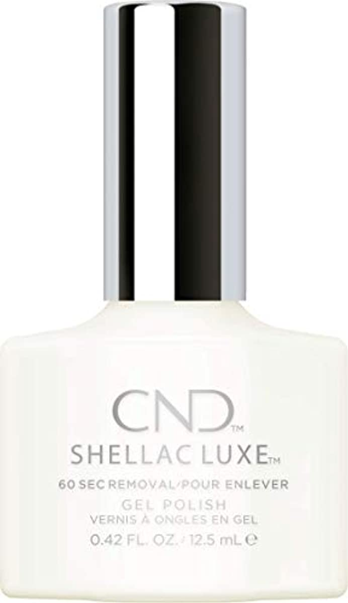 経度実験をする現象CND Shellac Luxe - Studio White - 12.5 ml / 0.42 oz