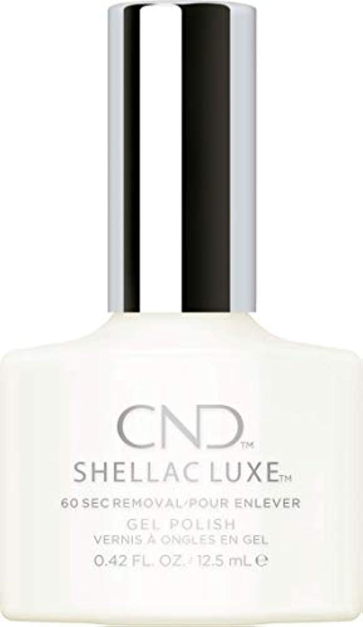 日焼け混乱マットレスCND Shellac Luxe - Studio White - 12.5 ml / 0.42 oz