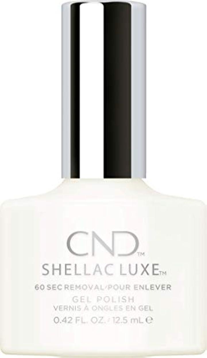 配分アテンダント楕円形CND Shellac Luxe - Studio White - 12.5 ml / 0.42 oz