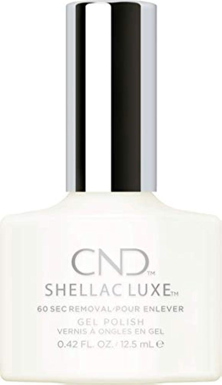 トラックマニフェスト傑出したCND Shellac Luxe - Studio White - 12.5 ml / 0.42 oz