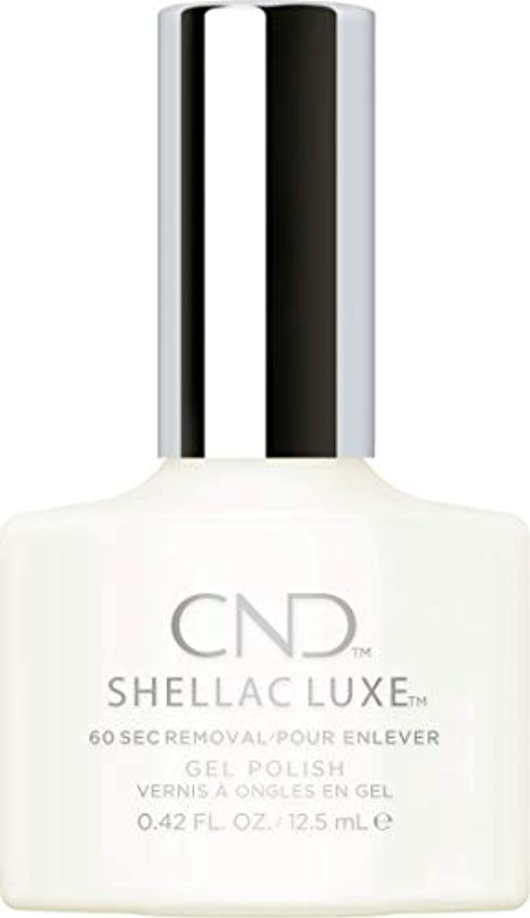 入場料サラミ認証CND Shellac Luxe - Studio White - 12.5 ml / 0.42 oz
