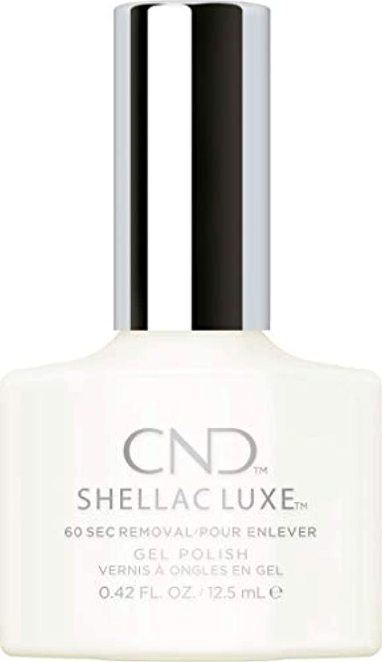事業残り物タックルCND Shellac Luxe - Studio White - 12.5 ml / 0.42 oz
