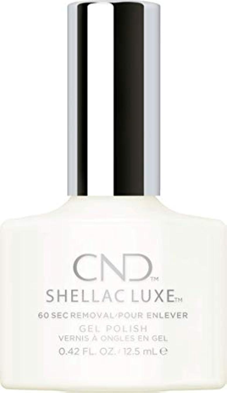 電話する不承認茎CND Shellac Luxe - Studio White - 12.5 ml / 0.42 oz