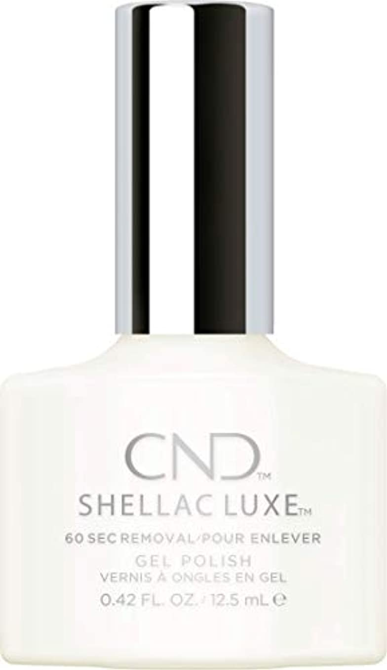 調子引き渡す覚えているCND Shellac Luxe - Studio White - 12.5 ml / 0.42 oz