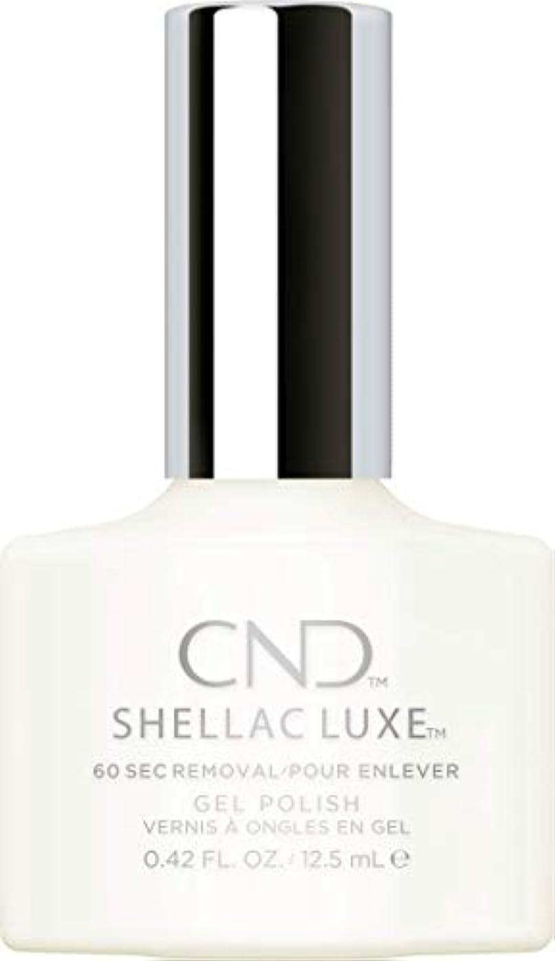 トリクル投資破壊的CND Shellac Luxe - Studio White - 12.5 ml / 0.42 oz