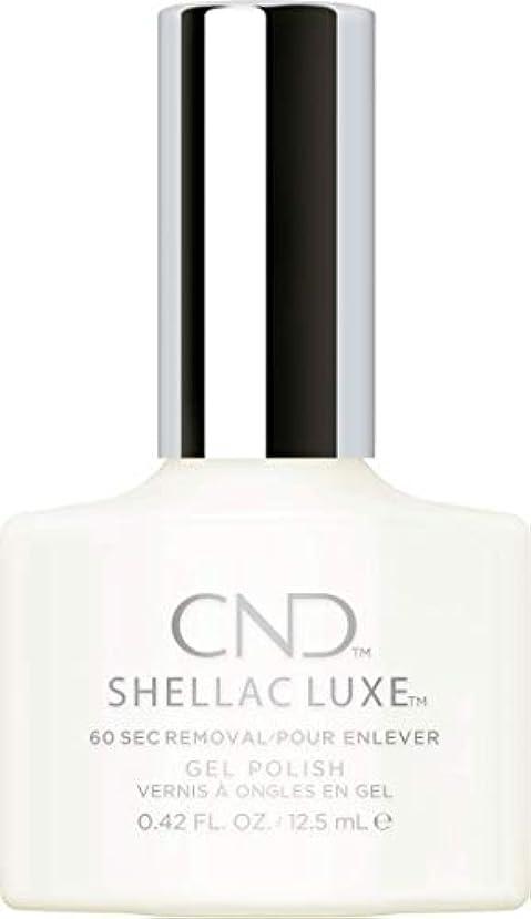 曲げるダイエット上に築きますCND Shellac Luxe - Studio White - 12.5 ml / 0.42 oz