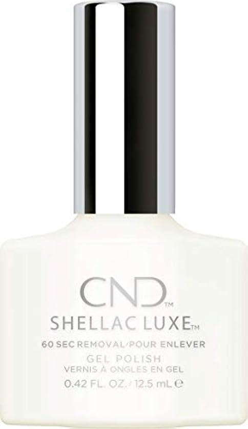 荒廃する進む頑固なCND Shellac Luxe - Studio White - 12.5 ml / 0.42 oz
