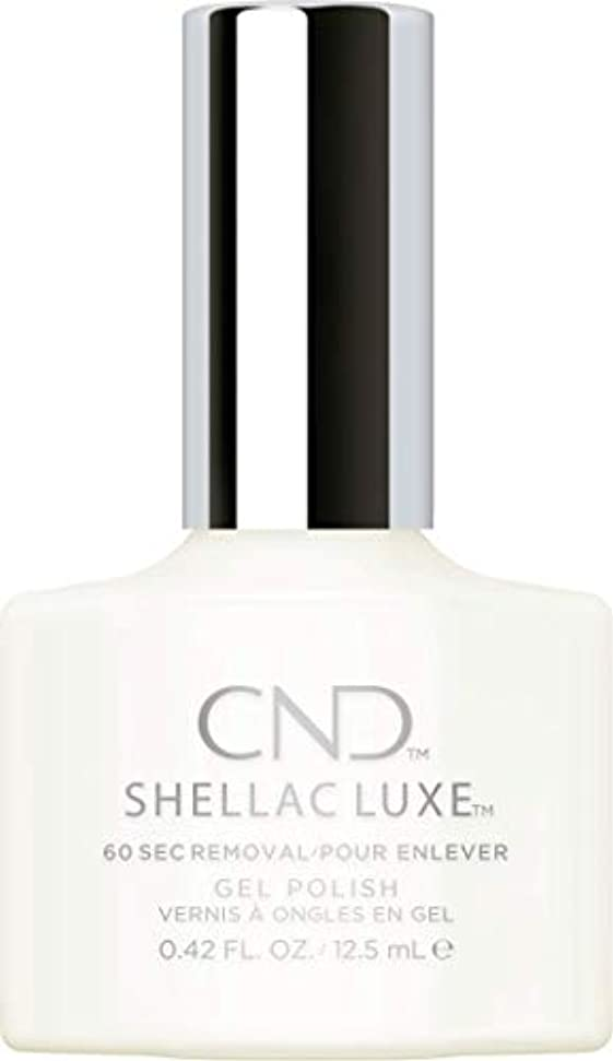 衰えるコミット徐々にCND Shellac Luxe - Studio White - 12.5 ml / 0.42 oz