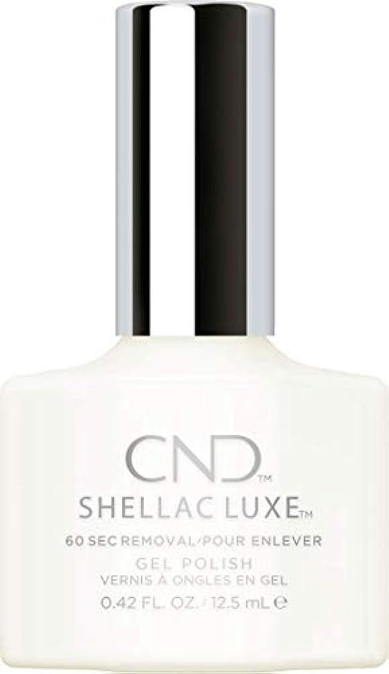 最大煙占めるCND Shellac Luxe - Studio White - 12.5 ml / 0.42 oz
