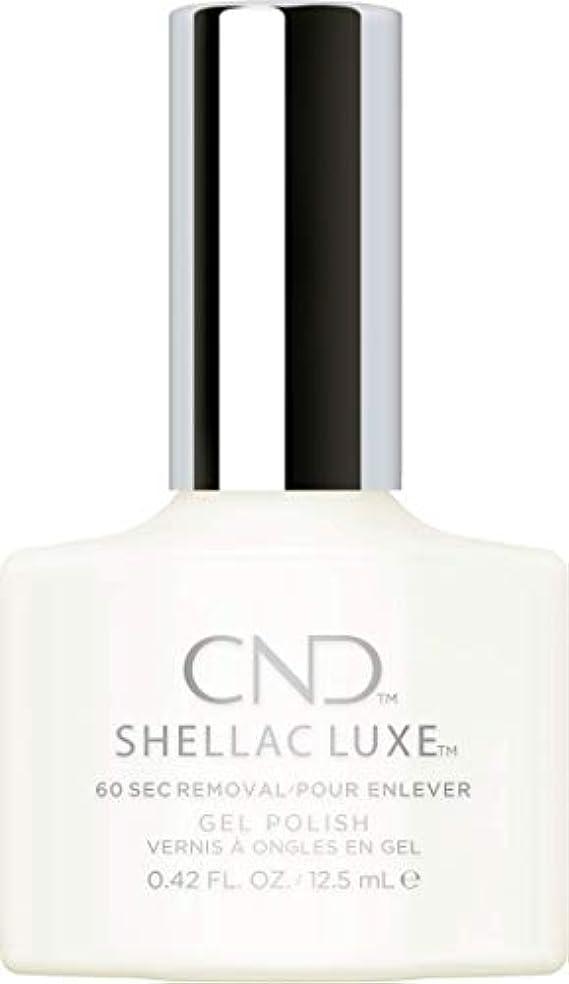 毎週不適切な闇CND Shellac Luxe - Studio White - 12.5 ml / 0.42 oz