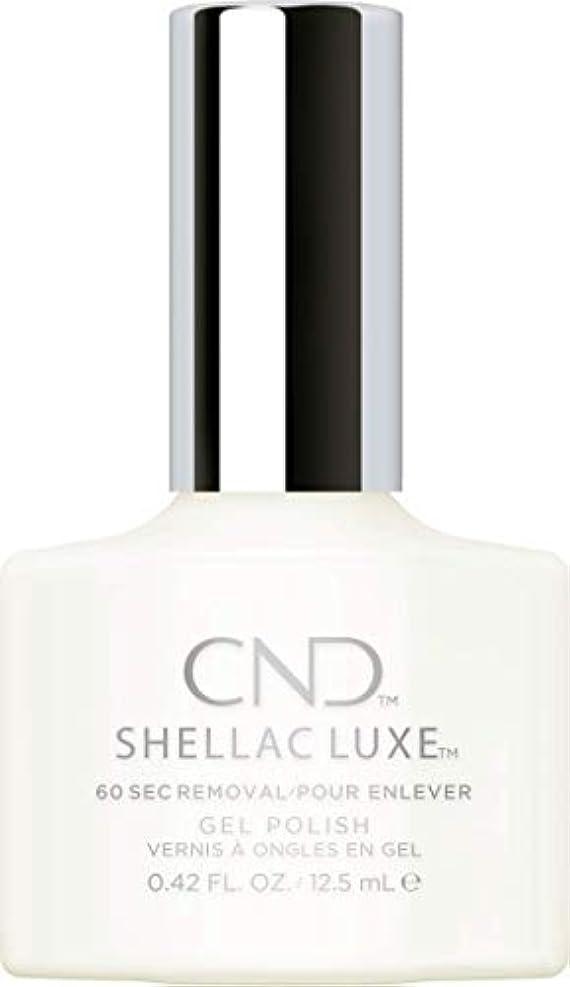 テザー開拓者いらいらするCND Shellac Luxe - Studio White - 12.5 ml / 0.42 oz