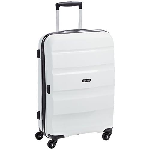 [アメリカンツーリスター] AmericanTourister スーツケース BON AIR ボンエアー スピナー66 57.5L 3.5kg 無料預入受託サイズ 保証付 85A*05002 05 (ホワイト)