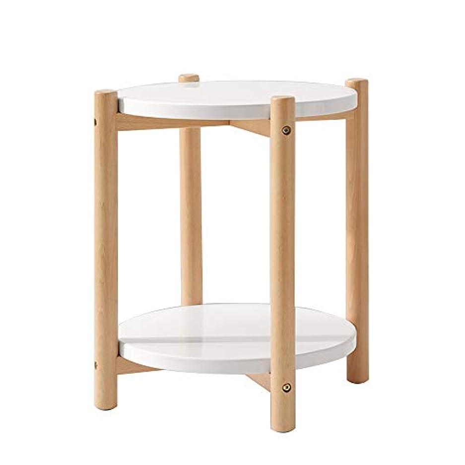写真を撮るケント桃折りたたみデスク ソリッドウッド製ベッドサイドテーブル、ベッドサイドテーブル、スモールアパートメント、ベッドルームロッカー A++ (色 : B)