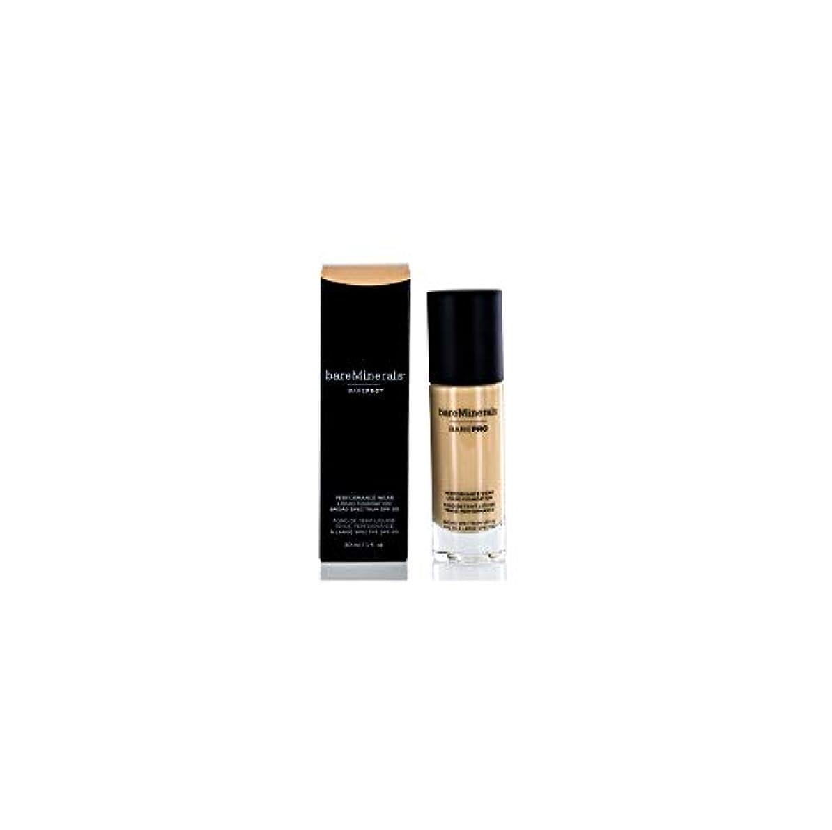 輝く森林数学ベアミネラル BarePro Performance Wear Liquid Foundation SPF20 - # 13 Golden Nude 30ml/1oz並行輸入品
