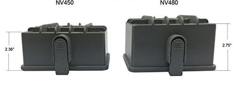 eshoppercity HEPA xhf450交換用for Shark Rotator Professional & Shark Rocket Professional Upright Vacuum Cleaner nv480 nv481 nv450 nv451 nv472 nv482 nv484、パーツ# xff450 xhf450