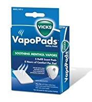 Vicks Soothing Vapors Replacement Pads for Vicks V1700 5 ea