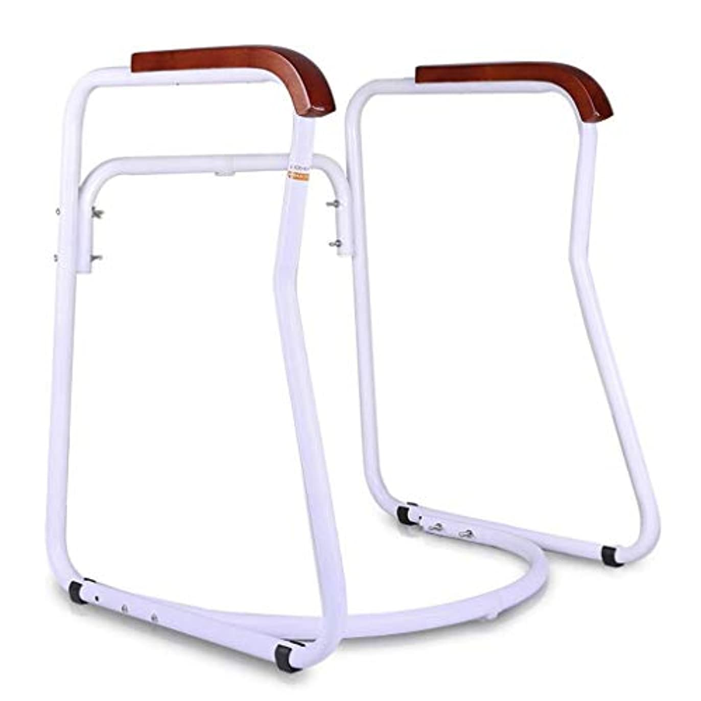 洗練された六化合物松葉杖サポート自立型トイレフレーム台形障害者向けデザイン/高齢者/高齢者/妊娠中の女性ウォーキングスティック