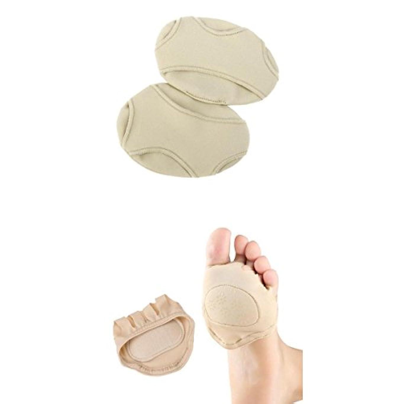エレクトロニック説明的ペンス足裏保護パッド 足裏マッサージ 足矯正パット痛み緩和 中足骨パッド種子骨保護サポーター