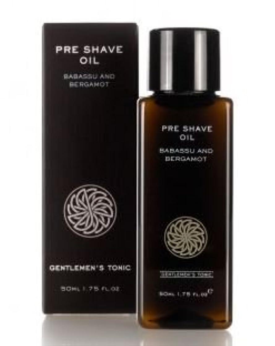物理黙メディックGentlemen's Tonic ジェントルメンズトニック Pre Shave Oil (プレシェーブオイル) 50g