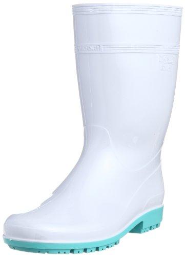 [ミドリ安全] 作業長靴 耐滑 耐油 耐薬 脱環境ホルモン ハイグリップ HG3000 N スーパー メンズ ホワイト 23.5