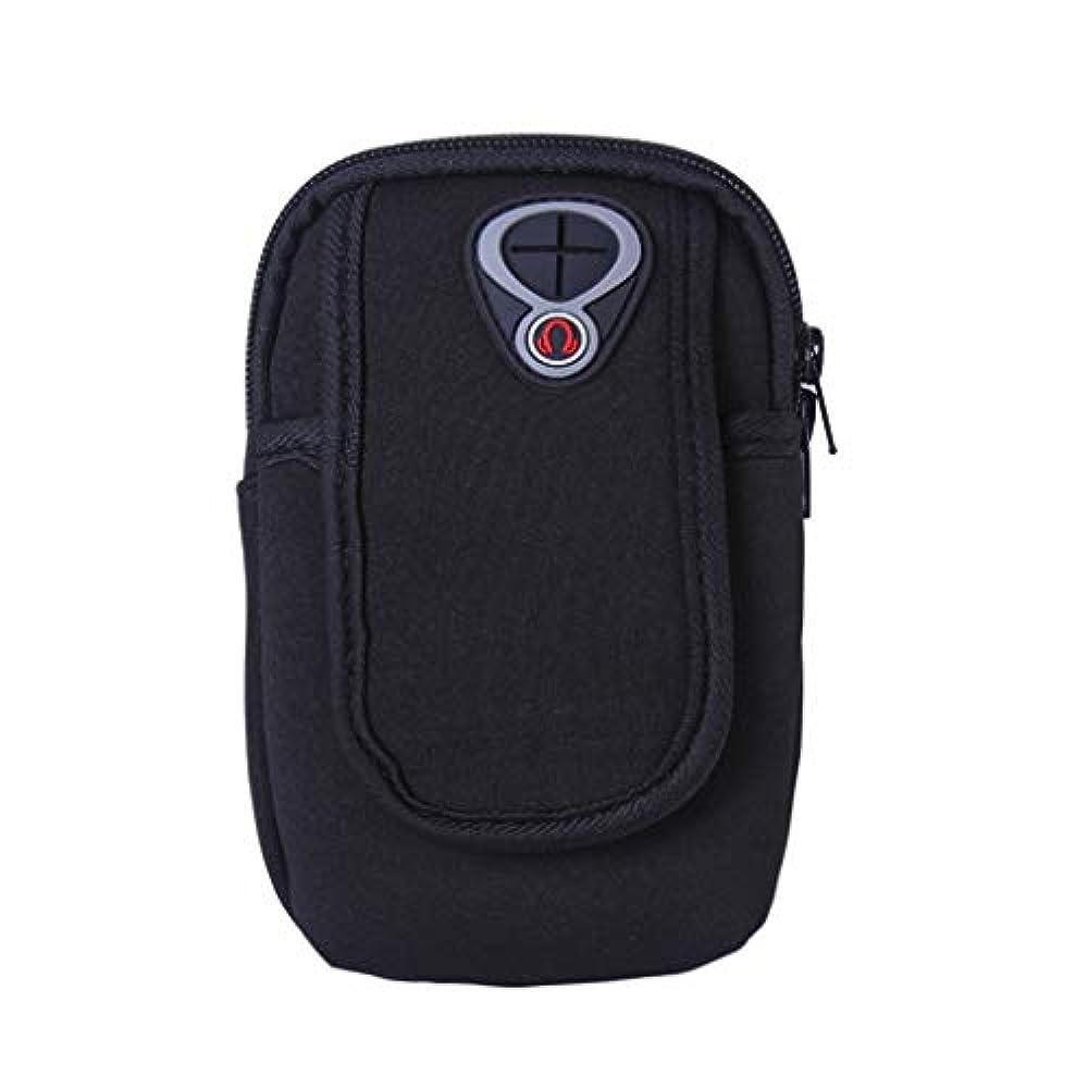 貫通するドーム説明的スマートフォンホルダー 携帯ケース YOKINO 通気性抜群 小物収納 防水防汗 軽量 縫い目なし 調節可能 男女共用