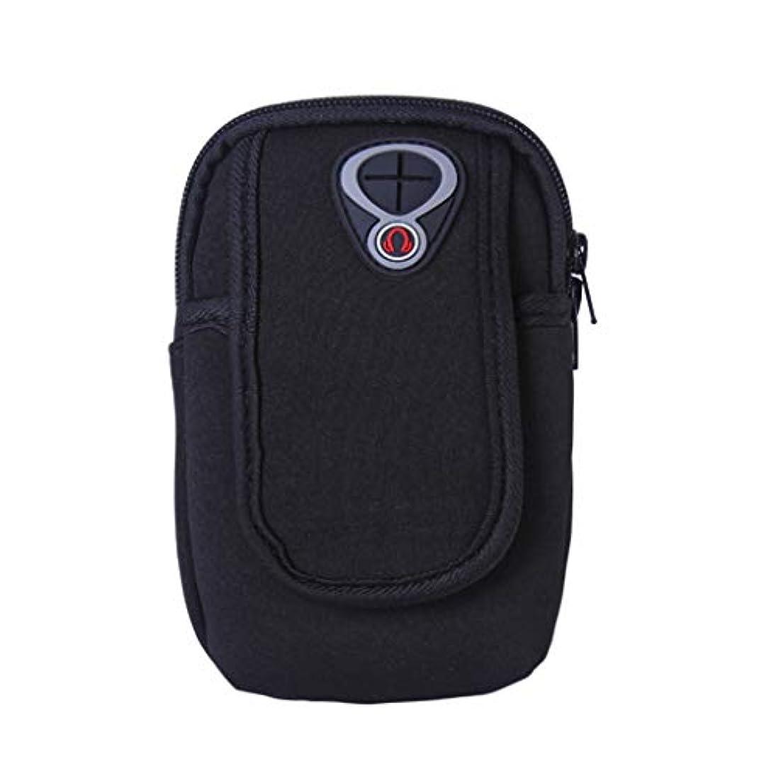 尋ねる伝記化学薬品スマートフォンホルダー 携帯ケース YOKINO 通気性抜群 小物収納 防水防汗 軽量 縫い目なし 調節可能 男女共用