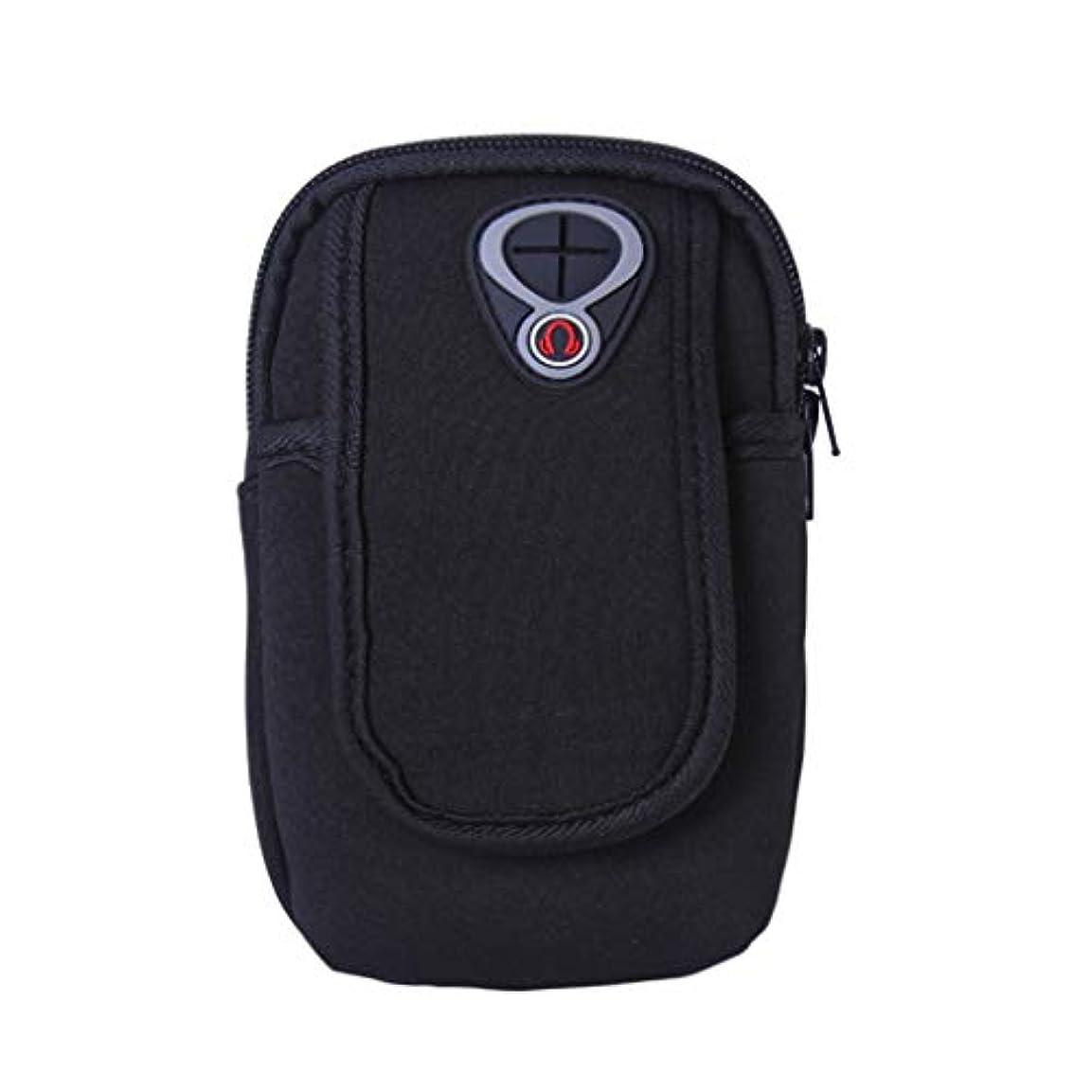 構成するステレオタイプ鼓舞するスマートフォンホルダー 携帯ケース YOKINO 通気性抜群 小物収納 防水防汗 軽量 縫い目なし 調節可能 男女共用