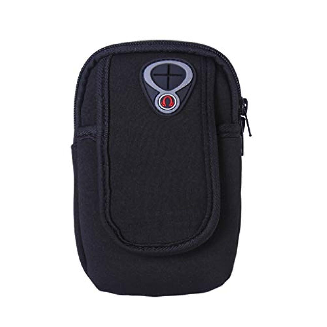 蘇生する裸ドライバスマートフォンホルダー 携帯ケース YOKINO 通気性抜群 小物収納 防水防汗 軽量 縫い目なし 調節可能 男女共用