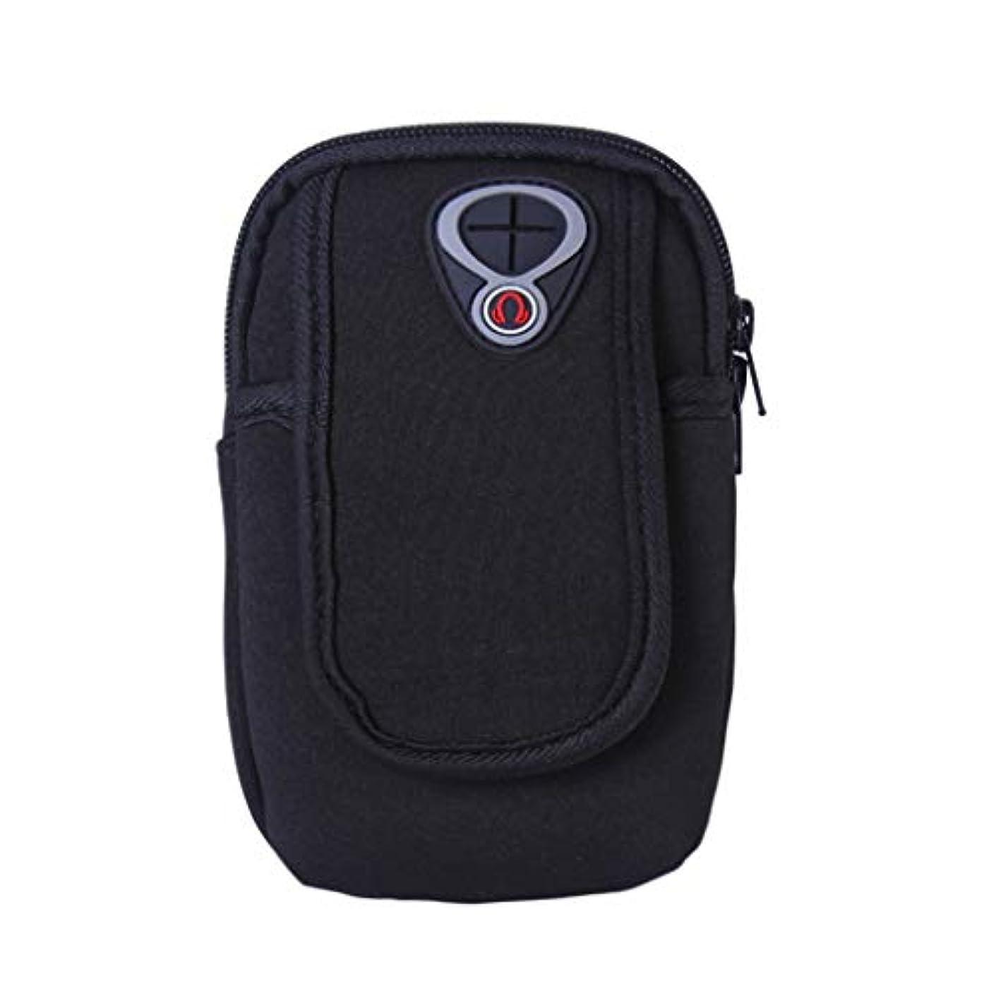 ワーカーやろう宣伝スマートフォンホルダー 携帯ケース YOKINO 通気性抜群 小物収納 防水防汗 軽量 縫い目なし 調節可能 男女共用