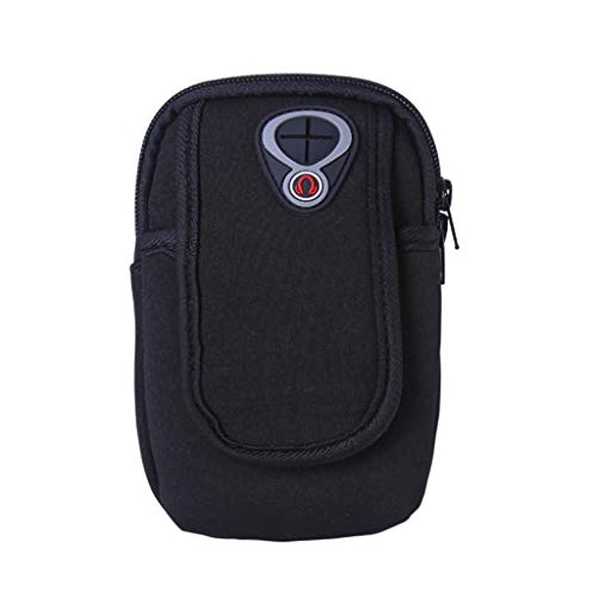 恐れに沿って品スマートフォンホルダー 携帯ケース YOKINO 通気性抜群 小物収納 防水防汗 軽量 縫い目なし 調節可能 男女共用