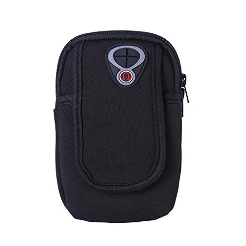 備品先のことを考える保守的スマートフォンホルダー 携帯ケース YOKINO 通気性抜群 小物収納 防水防汗 軽量 縫い目なし 調節可能 男女共用