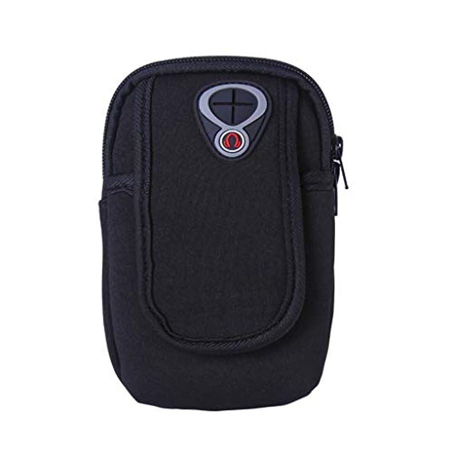 特異な疼痛早くスマートフォンホルダー 携帯ケース YOKINO 通気性抜群 小物収納 防水防汗 軽量 縫い目なし 調節可能 男女共用