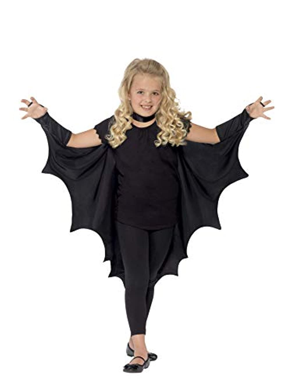 広く探すブルジョン(One Size, Black) - Child Black Bat Wings