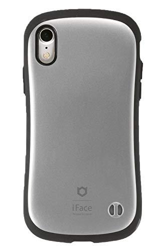 iFace First Class Metallic iPhone XR ケース [シルバー]