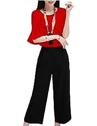 Tootess 事務服の2ピースのための女性のスリムパンツセットスタイリッシュなシャツとパンツ