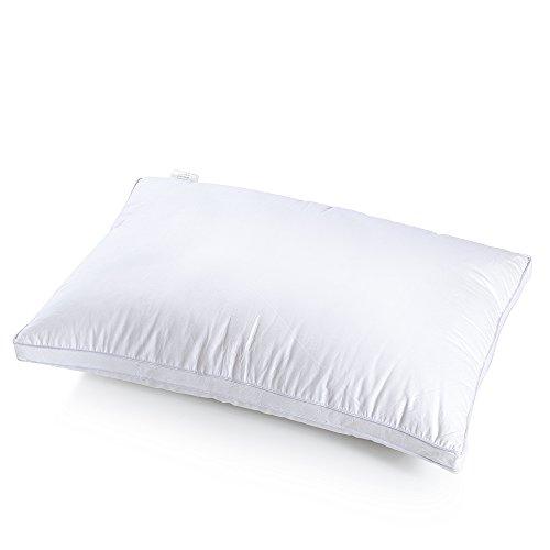 ABOMATE 人気安眠枕 快眠マクラ 洗える枕 枕 安眠 人気 肩こり カバー綿100% 高さ調整可 羽毛風 ホテル仕様枕 サイズ69x45cm ふわふわ 肩こり対策 寝返り上手 頭痛対策 1年間保証付き ホワイト
