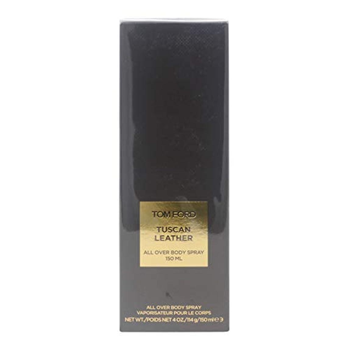 瞑想する助けになるつまらないTom Ford Private Blend 'Tuscan Leather' (トムフォード プライベートブレンド トスカンレザー) 5.0 oz (150ml) All Over Body Spray