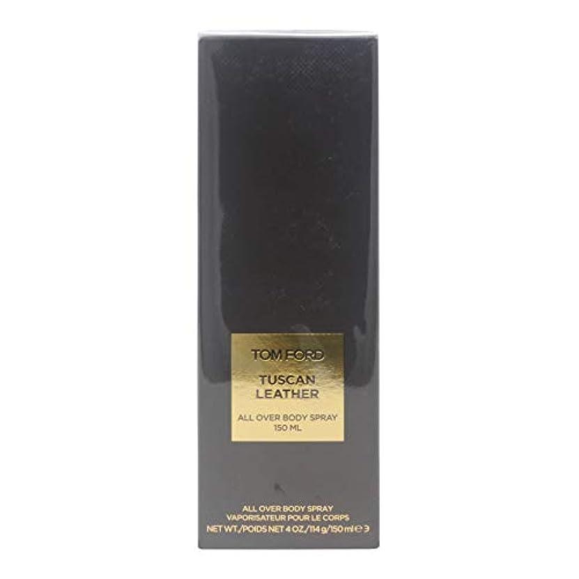 クレデンシャル先例裁判所Tom Ford Private Blend 'Tuscan Leather' (トムフォード プライベートブレンド トスカンレザー) 5.0 oz (150ml) All Over Body Spray