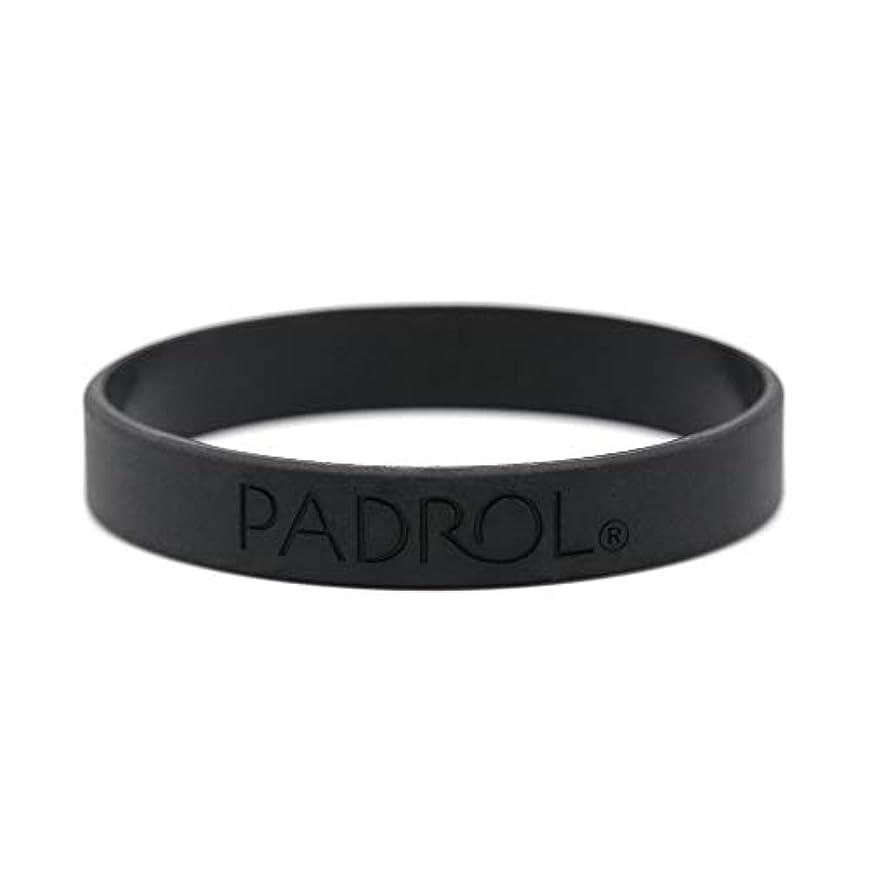 テクトニック夫男PADROL フレグランス ブレスレット ホワイトムスクの香り シリコン Mサイズ ブラック PAD-13-04