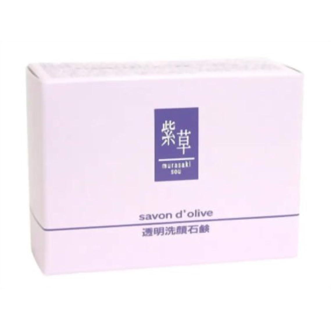 ロマンスウルル率直な紫草 サボンドリーブ(洗顔)