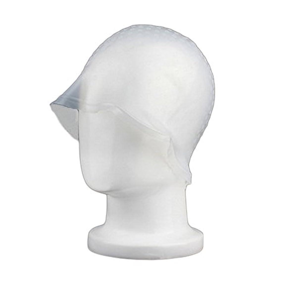 不良代わりにを立てる主張Zafina 毛染め用 キャップ 再利用可能 染め専用 ボンネット ヘアカラー (透明)