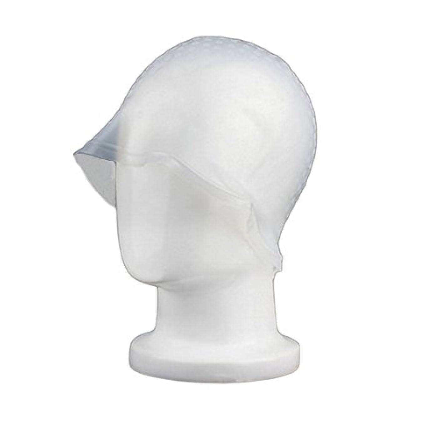 まっすぐ女の子難しいZafina 毛染め用 キャップ 再利用可能 染め専用 ボンネット ヘアカラー (透明)