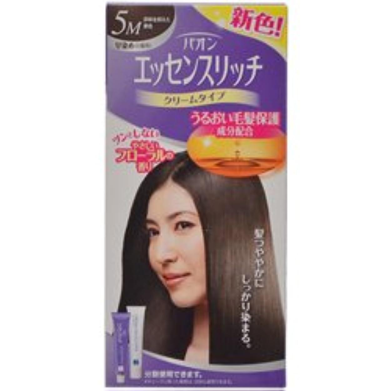 【シュワルツコフヘンケル】パオンエッセンスリッチクリーム 5M 赤味を抑えた栗色 ×20個セット