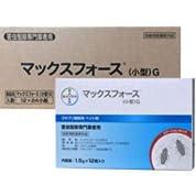 チャバネゴキブリ用ベイト剤 マックスフォースG 1.5g×12個入×24個