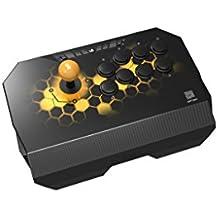 Qanba Drone クァンバ ドローン アーケード ジョイスティック (PlayStation (R) 4 / PlayStation (R) 3 / PC) 本格的なアケコンと同じ30mmボタン8個 標準レイアウト採用 場所をとらない軽量コンパクトモデル