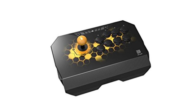 旅客繰り返しぼろQanba Drone クァンバ ドローン アーケード ジョイスティック (PlayStation (R) 4 / PlayStation (R) 3 / PC) 本格的なアケコンと同じ30mmボタン8個 標準レイアウト採用 場所をとらない軽量コンパクトモデル