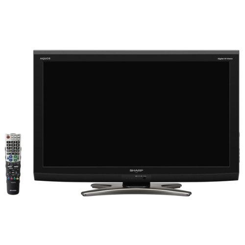 シャープ 32V型 ハイビジョン 液晶テレビ ブラック AQUOS LC-32E7-B