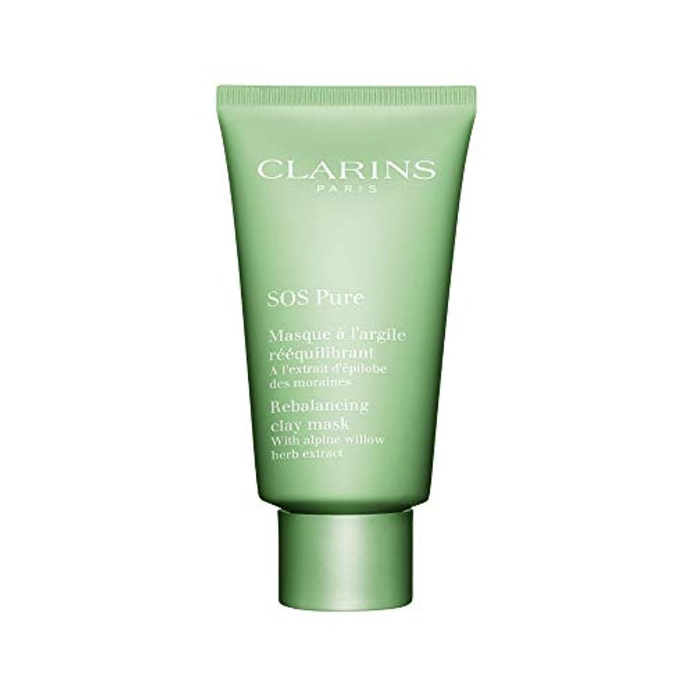 病気超音速工業化するクラランス SOS Pure Rebalancing Clay Mask - Combination to Oily Skin 75ml/2.3oz並行輸入品